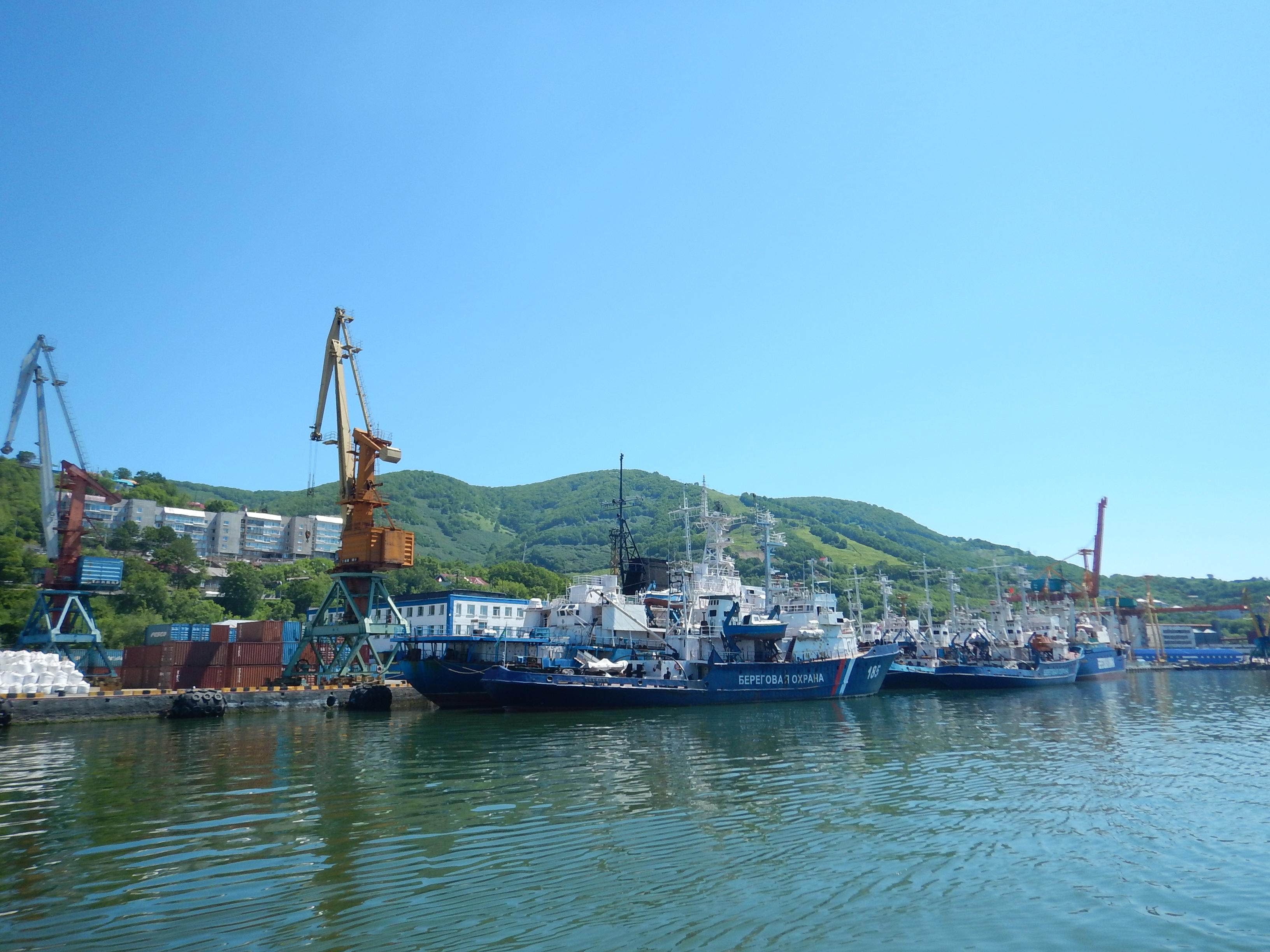 Петропавловск-Камчатский, порт