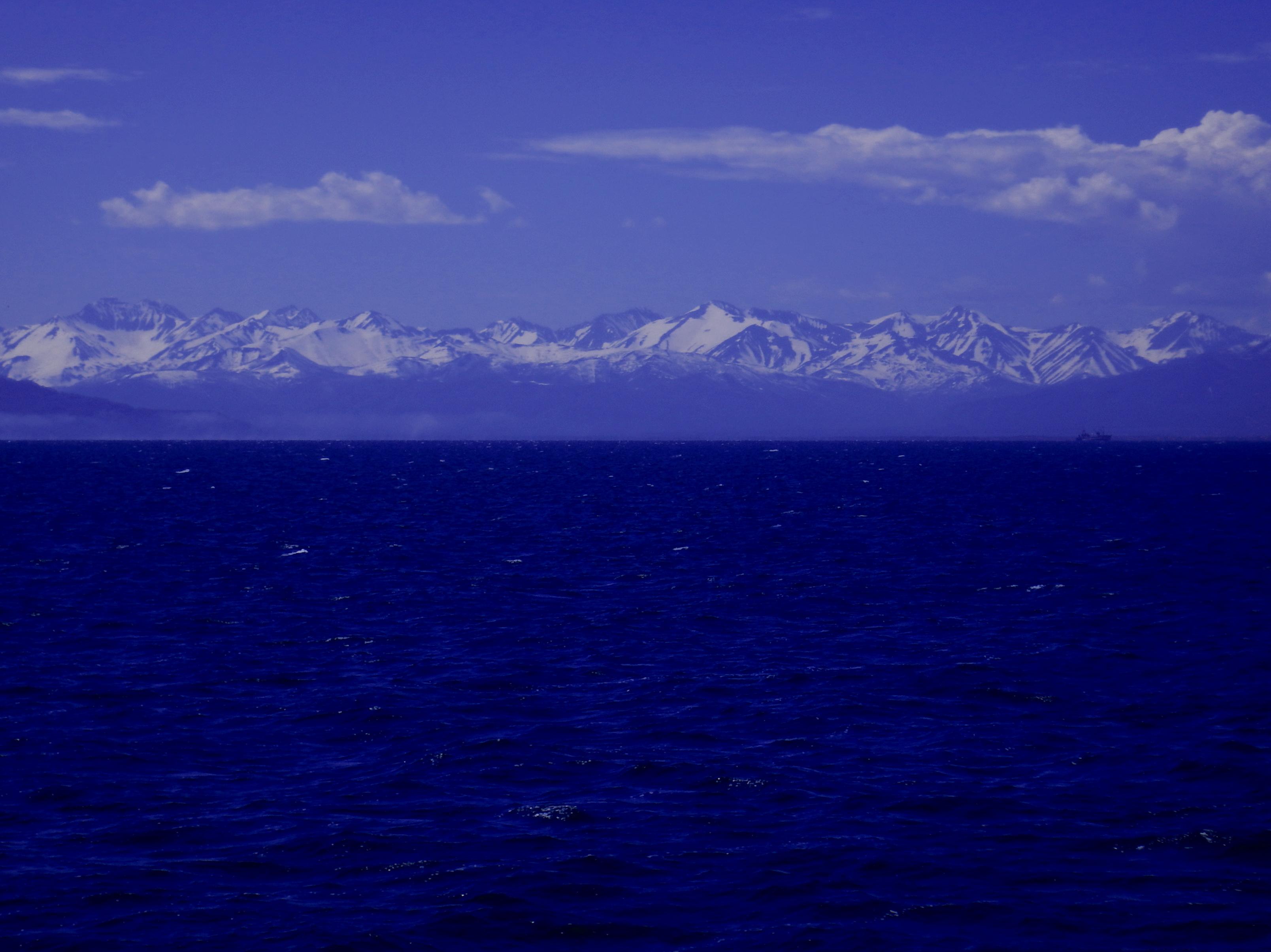 Камчатка, тихий океан