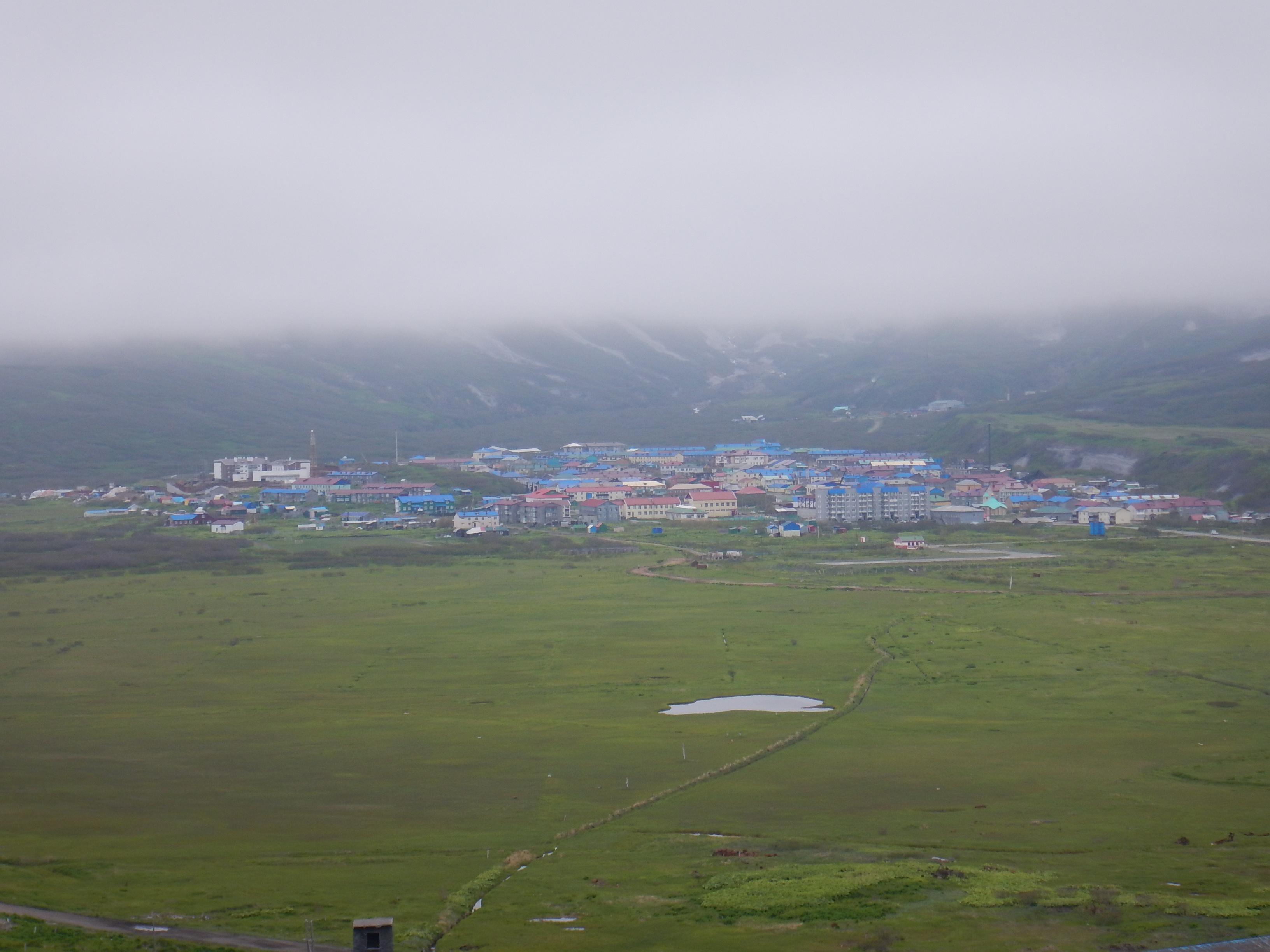 Курилы, остров Парамушир, Северо-Курильск