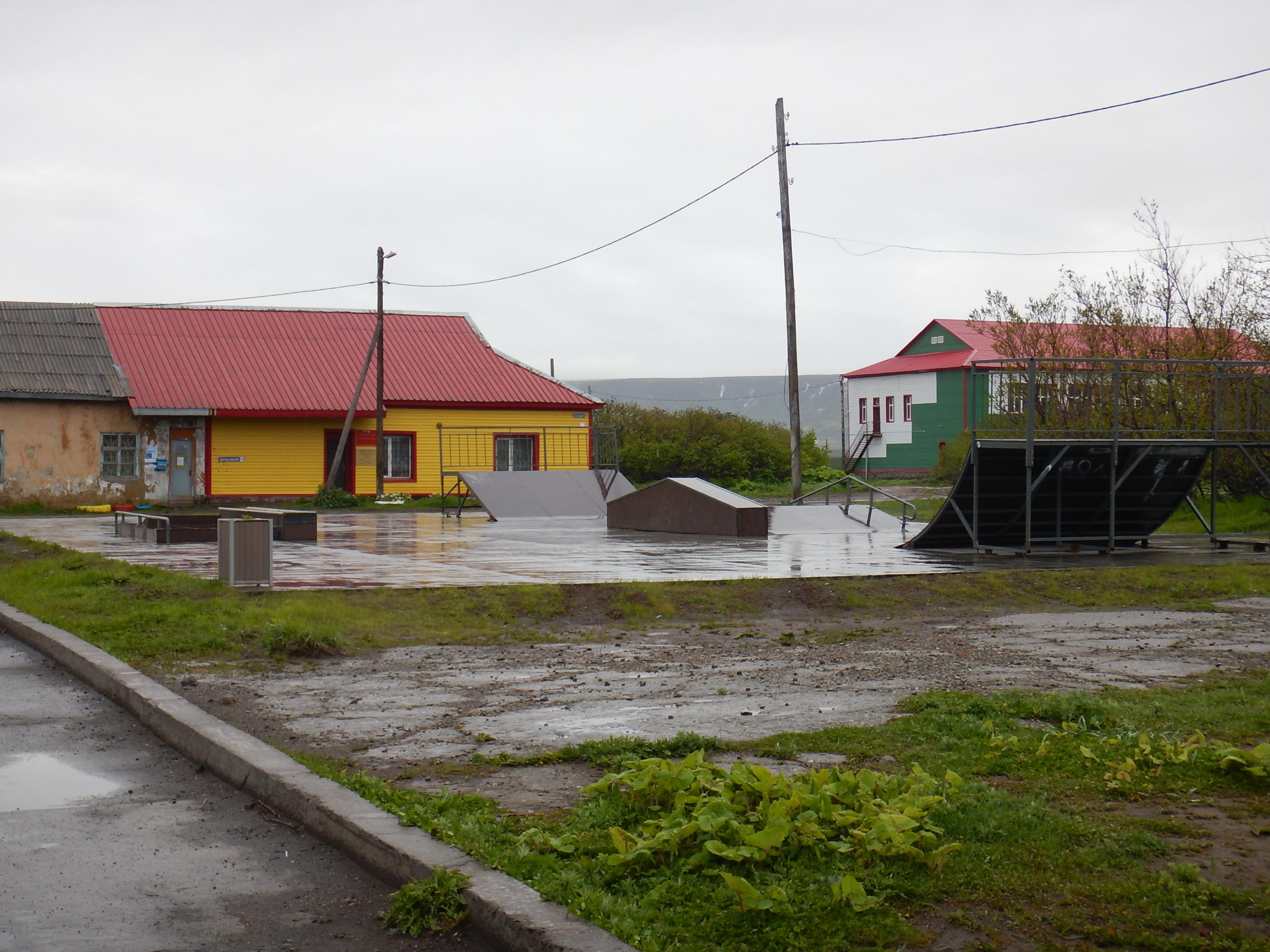 Скейтборд площадка Северо-Курильск
