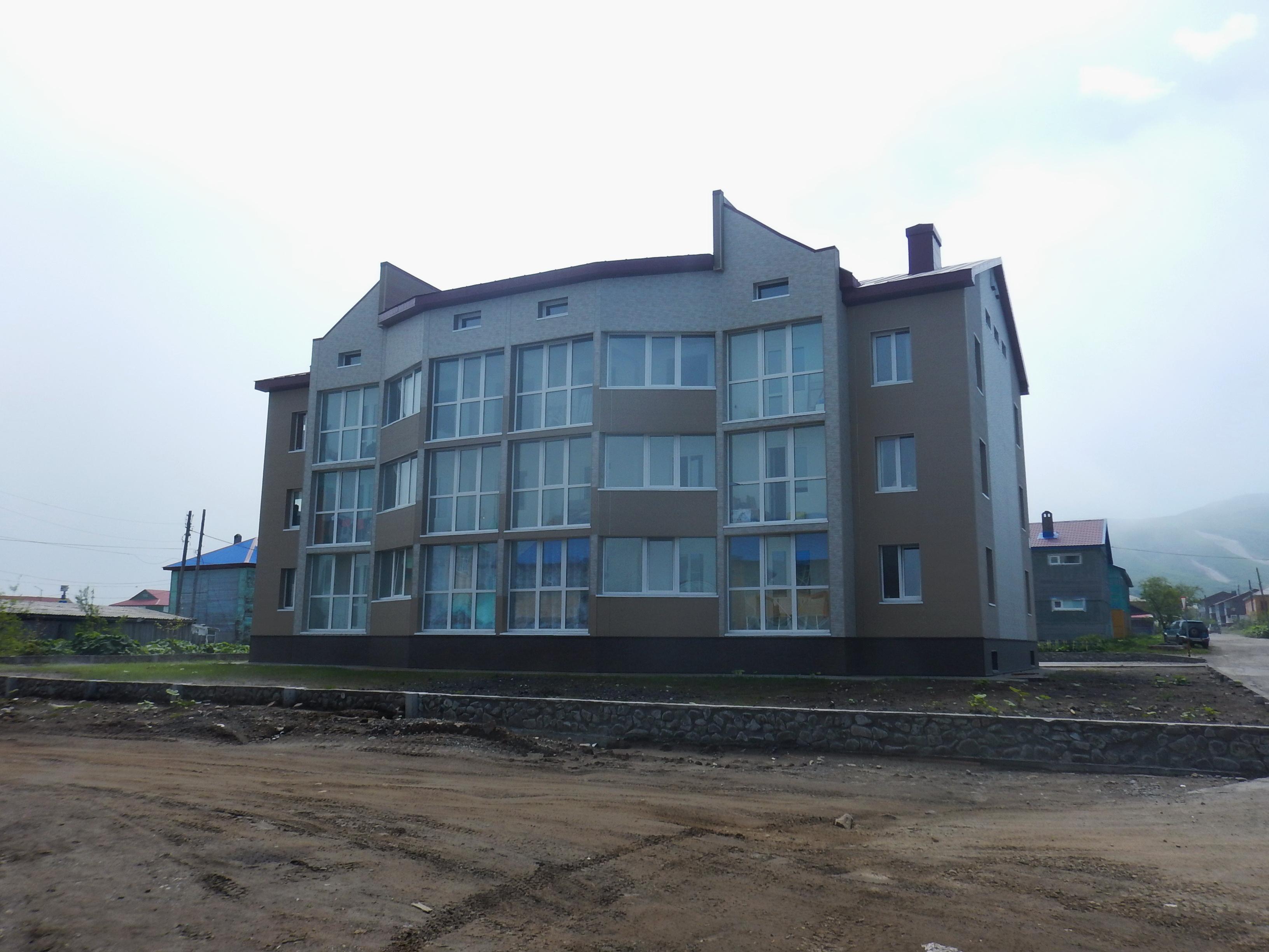 новое здание, Северо-Курильск