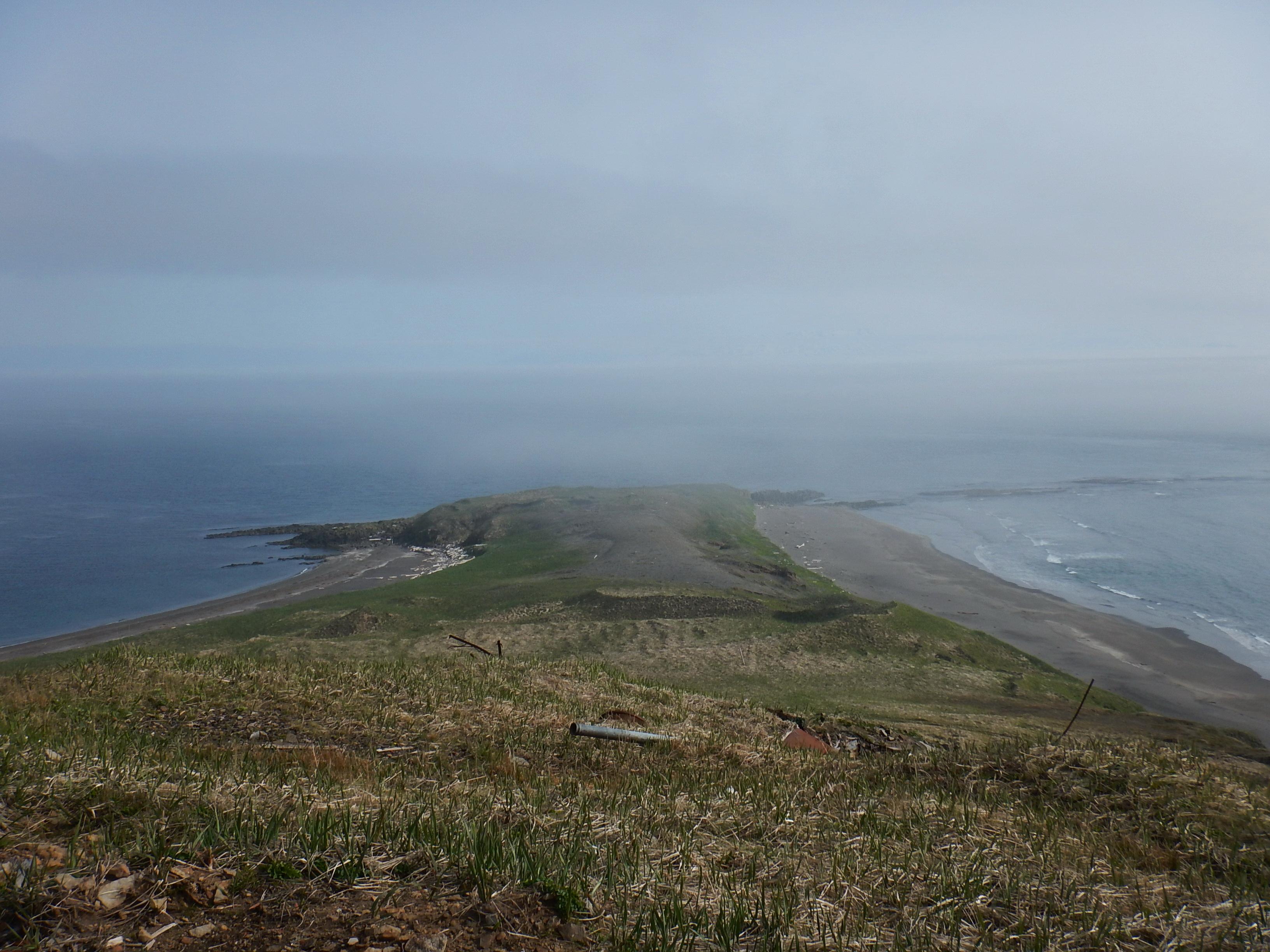 Курилы, остров Шумшу, северный мыс