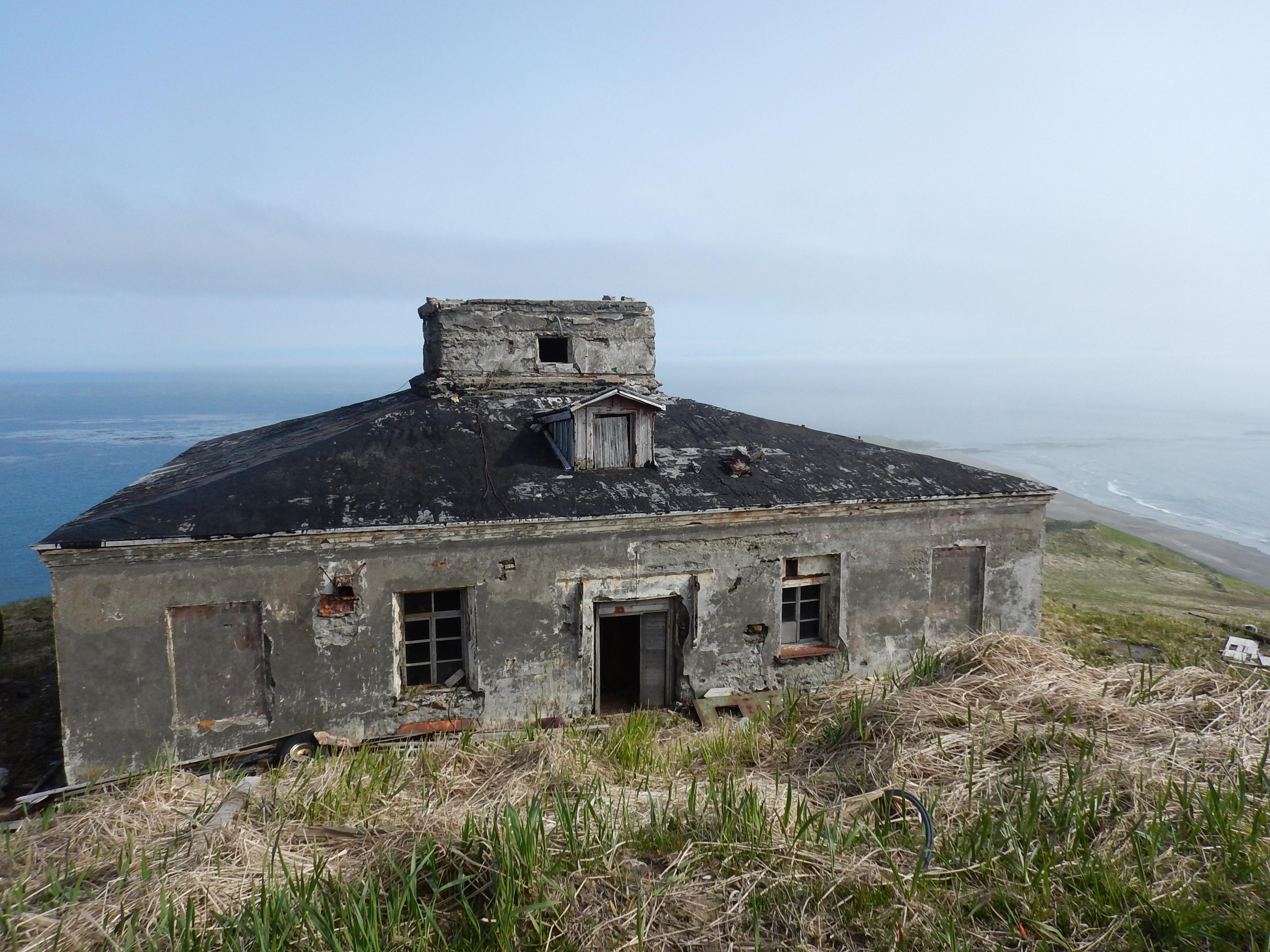 Курилы, остров Шумшу, окрестности восточного маяка