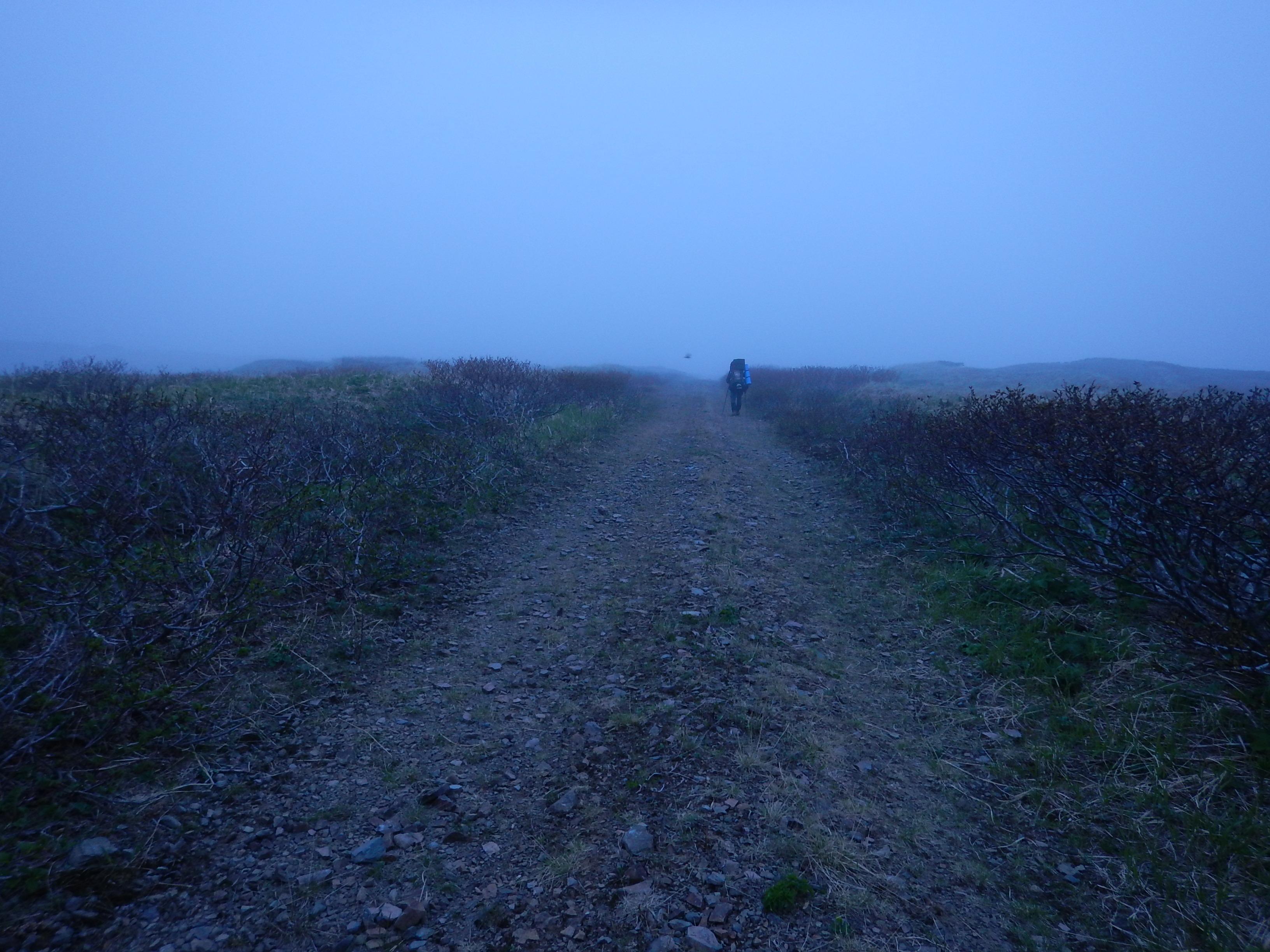 Курилы, поход по острову Шумшу