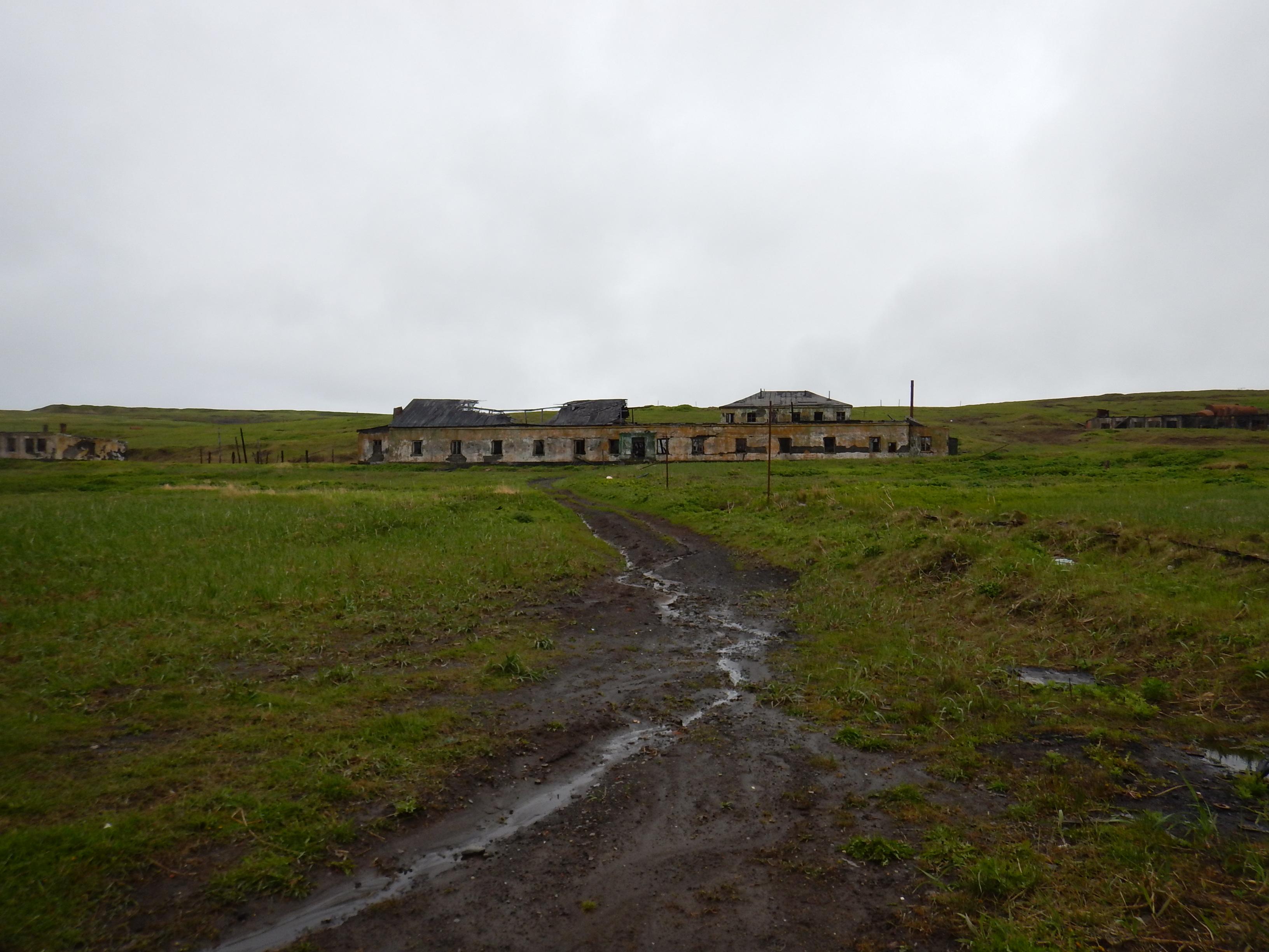 Курилы, остров Шумшу, остатки японского поселка Катаока, он же Байково