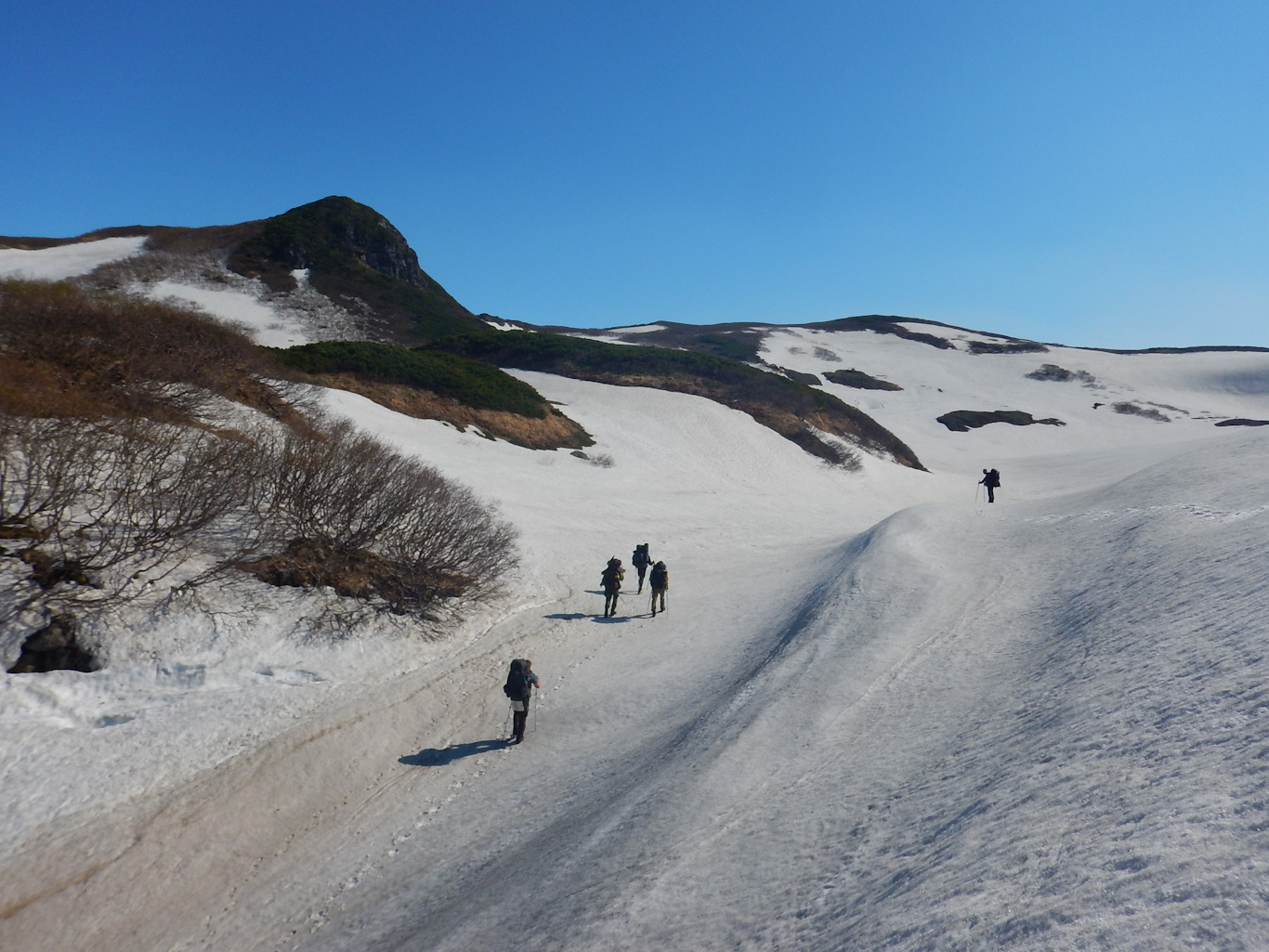 Горы Парамушира. Июль 2018