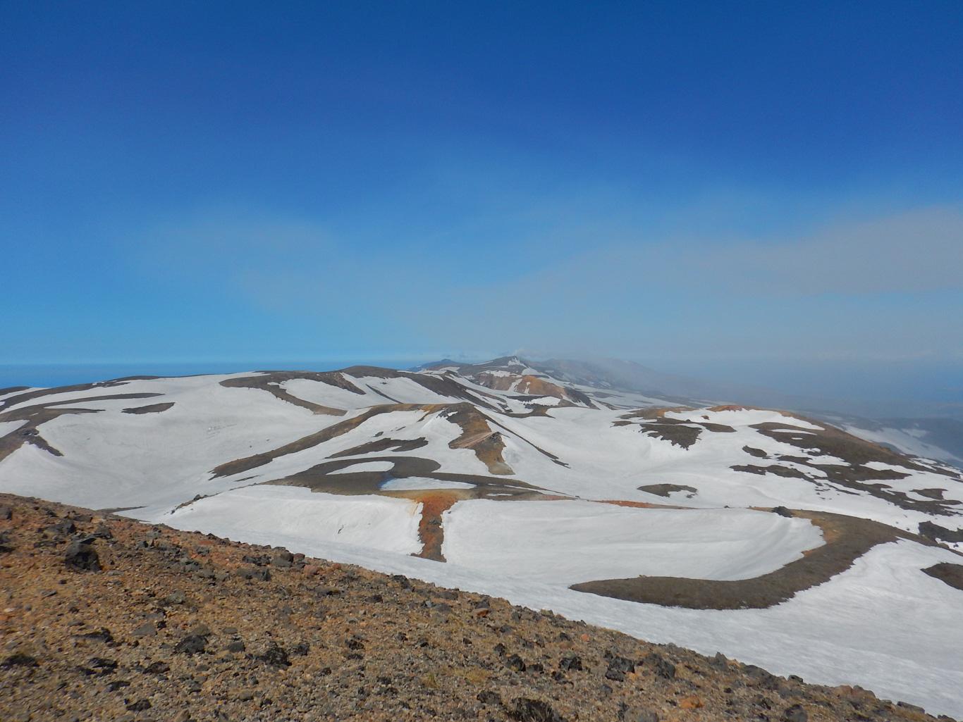Горы Парамушира