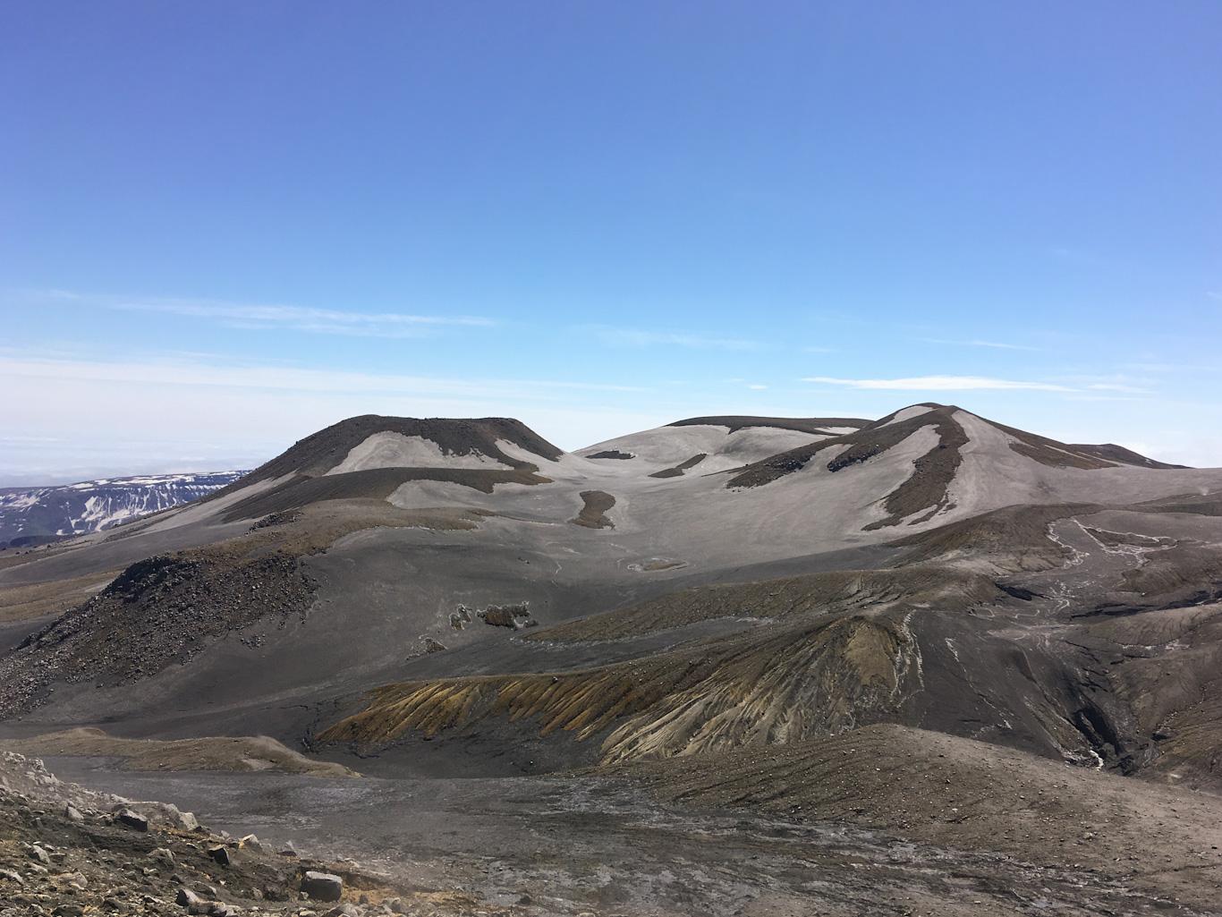 Парамушир, окрестности вулкана Эбеко
