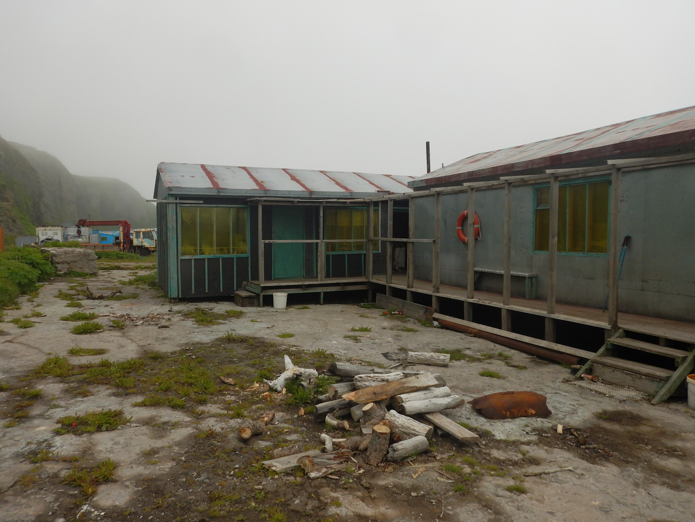 Рыбацкий поселок Шелихово, Парамушир