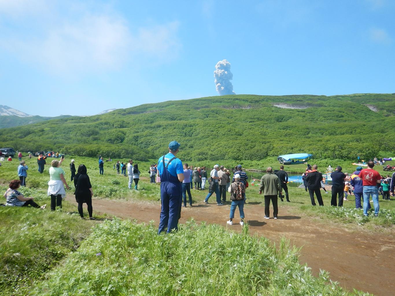 Северо-Курильск день рыбака 2018. Эбеко